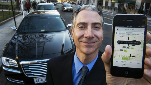 taxi app uber